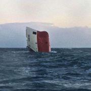 Suche nach Seeleuten vor Schottlands Küste eingestellt (Foto)
