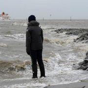 Meteorologen warnen vor Orkan und Sturmfluten (Foto)