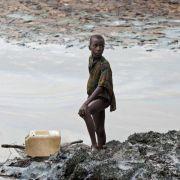 Shell zahlt nach Ölverschmutzung inNigeria 70 Millionen Euro (Foto)