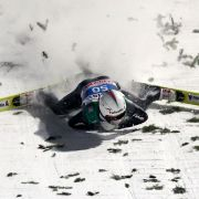 Skisprung-Horror! Die krassesten Stürze aller Zeiten (Foto)