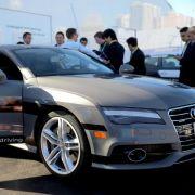 Audi zeigt auf der CES «lernendes» Auto (Foto)