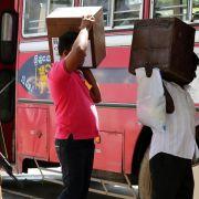 Präsidentenwahl in Sri Lanka begonnen (Foto)