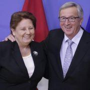 EU-Kommission zu Spitzengesprächen in Riga (Foto)