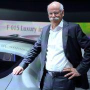 Zetsche: Technologie für selbstfahrende Autos weitgehend serienreif (Foto)