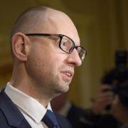 Jazenjuk verlangt gemeinsame Haltung gegenüber Russland (Foto)