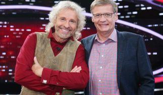 Thomas Gottschalk (l.) und Günther Jauch. (Foto)