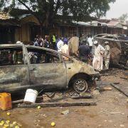 Kind verübt Selbstmordanschlag in Nigeria: 20 Tote (Foto)