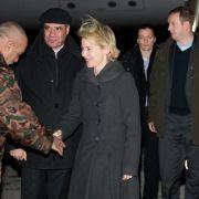 Von der Leyen im Irak - Treffen mit Präsident Massum (Foto)