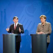 Davotuglu bittet um deutsche Unterstützung für EU-Beitritt (Foto)