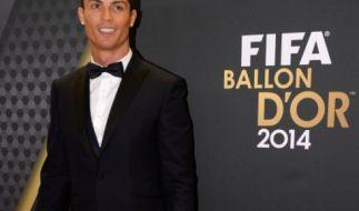 Cristiano Ronaldo ist zum dritten Mal Weltfußballer des Jahres. (Foto)