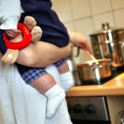 Familienstudie: Eltern machen sich viel Stress selbst (Foto)