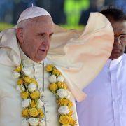 Papst redet auf Sri Lanka über Heilung und Versöhnung (Foto)
