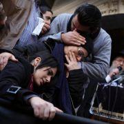 Tausende bei Begräbnis von jüdischen Opfern inJerusalem (Foto)