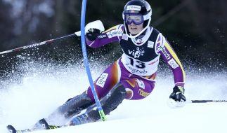 Der Nacht-Slalom der Damen im österreichischen Flachau war das letzte Rennen vor der Ski-WM im Februar. (Foto)