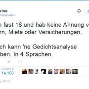 17-Jährige wird mit Schul-Tweet berühmt (Foto)