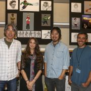 Jin Kim, Lorelay Bove, Shiyoon Kim und Paul Felix sind bei Baymax - Riesiges Robowabohu für dies Design der Stadt und der Charaktere zuständig.