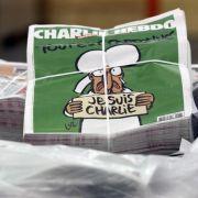 «Charlie Hebdo»: Ansturm auf Verkaufsstellen mit neuer Ausgabe (Foto)