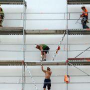Wohnungsbau treibt Baugewerbe an (Foto)