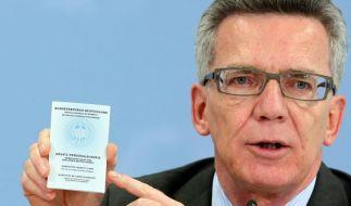 Kampf gegen Terror: Ausweis-Entzug für Islamisten (Foto)