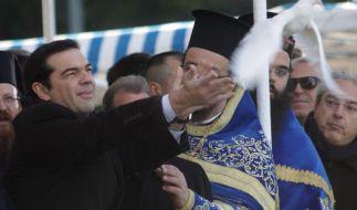 Griechische Linkspartei gibt sich vor Wahl kompromissbereiter (Foto)