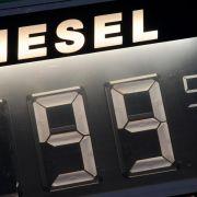 Dieselpreis sinkt weiter - 1-Euro-Marke langsam in Sicht (Foto)