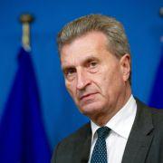 Oettinger mahnt Investitionen in digitale Infrastruktur an (Foto)