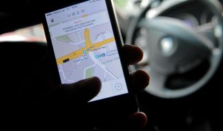 Uber-Chef mit Charme-Offensive vor Internet-Elite in München (Foto)