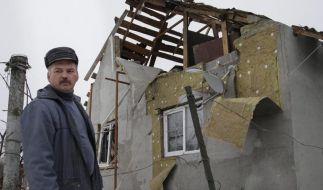 Schwere Kämpfe am Flughafen im ukrainischen Konfliktgebiet (Foto)
