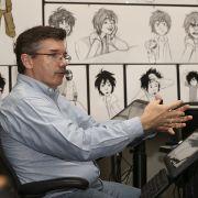 Eine lebende Legende bei Disney: Lead 2D Animator Mark Henn, der schon an Die Schöne und das Biest und Arielle - Die Meerjungfrau mitgezeichnet hat.
