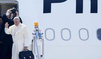 Hunderttausende verabschieden Papst auf den Philippinen (Foto)