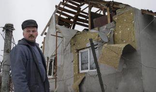 Schwere Kämpfe in der Ostukraine (Foto)