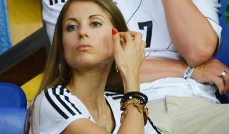 Cathy Fischer gilt seit ihrer verpatzten WM-Kolumne als unbeliebteste Spielerfrau. (Foto)