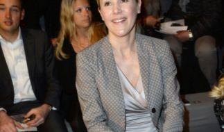 Bettina Wulff auf der Fashion Week Berlin 2015. (Foto)