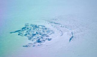 Forscher entdecken Schmelzwasser-Seen unter dem Grönland-Eis (Foto)
