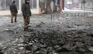 Ukraine-Krisentreffen: Steinmeier für Kompromissbereitschaft (Foto)