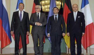 Fortschritte bei Ukraine-Gesprächen (Foto)