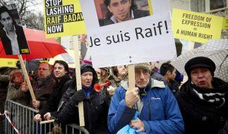 Prügelstrafe für saudischen Blogger wird wohl erneut ausgesetzt (Foto)