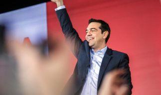 Tsipras beendet Wahlkampf siegesgewiss (Foto)
