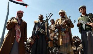 Landesweite Proteste gegen Huthi-«Putsch» im Jemen (Foto)