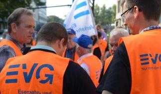 Die Bahn erneut mit der Gewerkschaft EVG im Gespräch. (Foto)