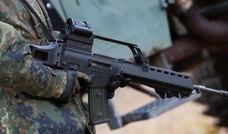 Sturmgewehr G36 Heckler & Koch. 2013 verkaufte Deutschland noch Waffen für 360 Millionen Euro nach Saudi-Arabien. (Foto)