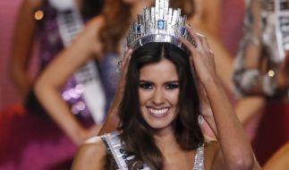 Miss Kolumbien Paulina Vega ist die schönste Frau des Universums. (Foto)