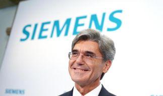 Siemens-Chef muss Milliarden-Deal verteidigen (Foto)