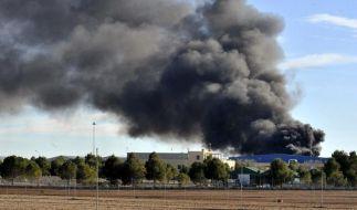 Zehn Tote bei Absturz auf spanischem Stützpunkt (Foto)