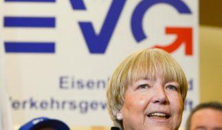 Regina Rusch-Ziemba, Verhandlungsführerin der Eisenbahn- und Verkehrsgewerkschaft EVG. (Foto)