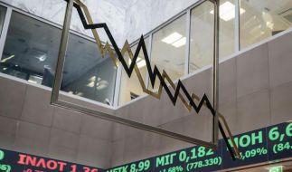 Griechenlands Finanzmärkte brechen ein (Foto)