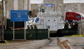 Gespannte Ruhe an Grenze zwischen Israel und Libanon (Foto)
