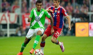 Die Bundesliga-Rückrunde beginnt am 30. Januar mit einem echten Spitzenduell: Erster (FC Bayern) gegen Zweiter (Vfl Wolfsburg). (Foto)