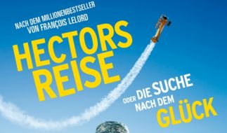 Hectors Reise oder die Suche nach dem Glück ist seit dem 22. Januar 2015 auf Blu-ray und DVD erhältlich. (Foto)