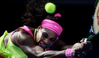 Australian Open 2015, Tennis live: US-Star Serena Williams schlug im Damen-Finale die Russin Maria Scharapowa. (Foto)